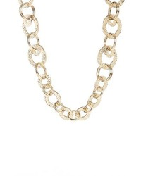 St. John Collection Hammered Link Necklace