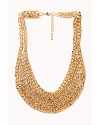 Forever 21 Cool Girl Layered Chain Necklace