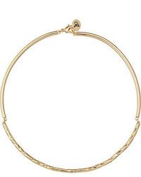 Sam Edelman Crinkle Hinge Collar 15 Necklace