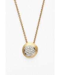 Marco Bicego Delicati Jaipur Diamond Pendant Necklace