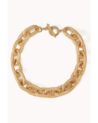Forever 21 Elegant Chain Link Necklace