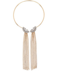 Eye Candy Los Angeles Fringe Collar Necklace
