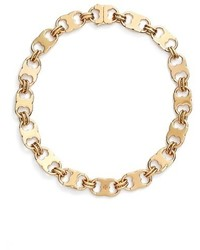 Tory Burch Gemini Link Collar Necklace