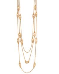 Tory Burch Gemini Link Multi Strand Necklace