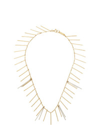Isabel Marant Gold And Silver Good Swung Necklace