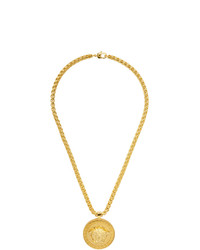 Versace Gold Medusa Necklace