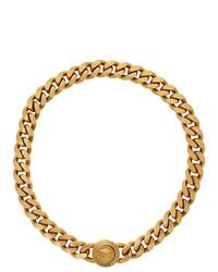 Versace Gold Medusa Tribute Chain Necklace