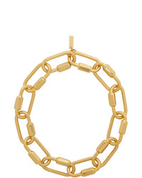 Portrait Report Gold Summer Time Sadness Necklace