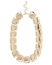 River Island Gold Tone Chunky Clean Short Necklace