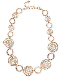 lonna & lilly Gold Tone Coin Collar Necklace