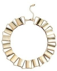 GUESS Gold Tone Glam Link Statet Necklace