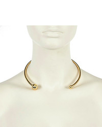 River Island Gold Tone Open Torq Necklace