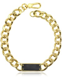 Marc by Marc Jacobs Link To Katie Id Plaque Statet Necklace