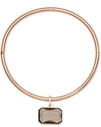 Michael Kors Michl Kors Rose Gold Tone Choker Necklace