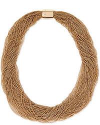 Brunello Cucinelli Multi Strand Monili Collar Necklace
