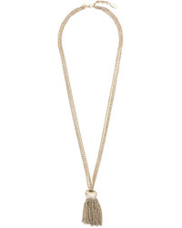 Lanvin Multiple Strand Tassel Necklace
