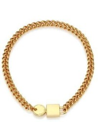 Marc by Marc Jacobs Padlock Key Chain Necklace
