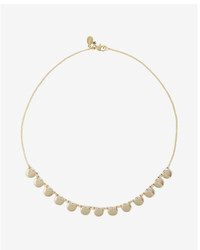 Express Short Disc Necklace