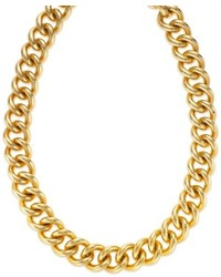 Signature Gold 14k Gold Curb Chain Necklace