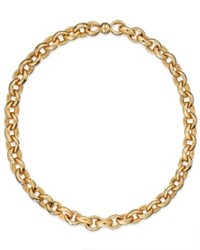 Signature Gold 14k Gold Rolo Chain Necklace