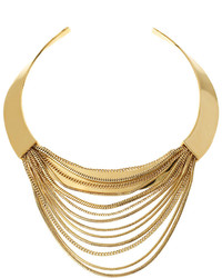 Diane von Furstenberg Snake Chain Collar Necklace