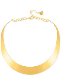 Robert Lee Morris Soho 14 Necklace Half Moon Collar Necklace