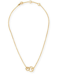 Tory Burch Thames Two Link Necklace