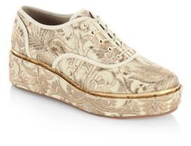 Tory Burch Arden Platform Oxfords
