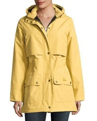 Barbour Stratus Hooded Utility Jacket Gold