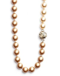 St. John Collection Two Tone Glass Pearl Necklace