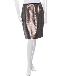 Tory Burch Embellished Pencil Skirt