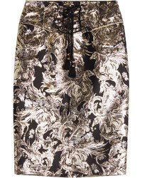 Skirt with metallic thread medium 960650