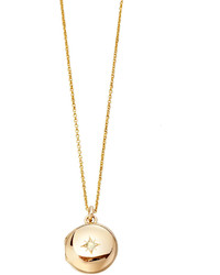 Astley Clarke 14k Gold Little Astley Locket Necklace