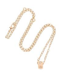 Pomellato 18 Karat Gold Diamond Necklace