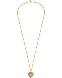 Carolina Bucci 18 Karat Gold Multi Stone Necklace