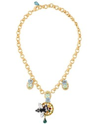 Dolce & Gabbana Bee Pendant Necklace