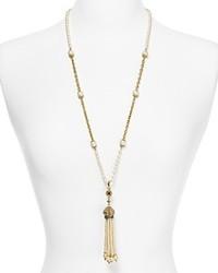 Carolee Lux India Of Illusions Tassel Pendant Necklace 30