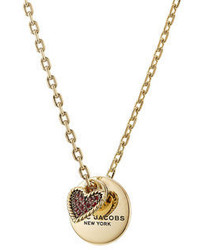 Marc Jacobs Charm Embellished Necklace