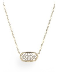 Kendra Scott Elisa Openwork Pendant Necklace