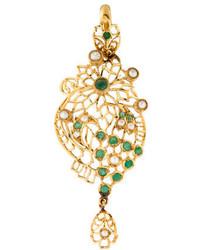Emerald Pearl Pendant