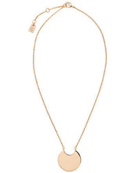 Lauren Ralph Lauren Fringe Worthy Crescent Necklace