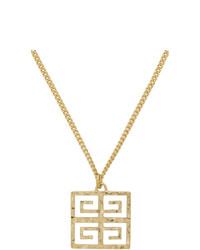 Givenchy Gold 4g Long Pendant Nekclace