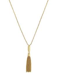 Vince Camuto Goldtone Tassel Pendant Necklace