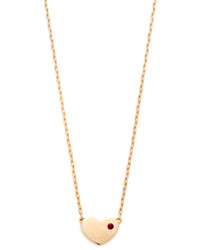 Marc Jacobs Heart Charm Necklace