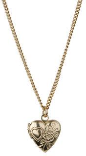 Topshop Heart Locket Pendant