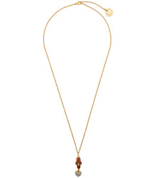 Dolce & Gabbana Heart Rocket Pendant Necklace