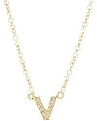 Jennifer Meyer Initial Necklace