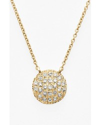 Dana Rebecca Designs Lauren Joy Diamond Disc Pendant Necklace