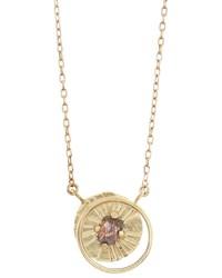 Lio Linn Limited Edition Diamond Crescent Moon Necklace