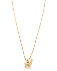 Madewell Llama Charm Necklace